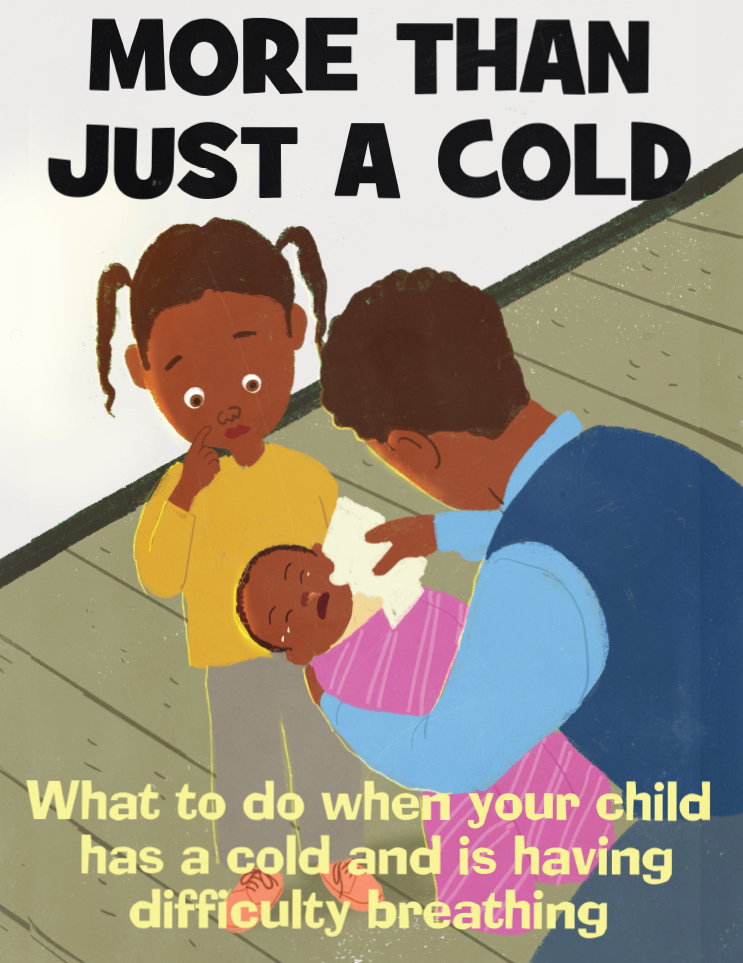 More than just a cold - what to do when your child has a cold and is having difficulty breathing